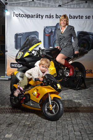 """Vítěz soutěže o """"nej"""" motorkáře"""