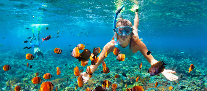 Jak fotit u vody, na vodě a pod vodou