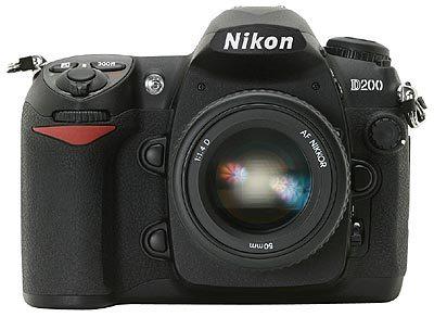 Super nabídka na Nikon D200