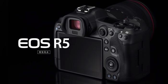 Canon oznámil vývoj našlapaného EOS R5 se stabilizací, vysokorychlostním snímáním a 8K videem