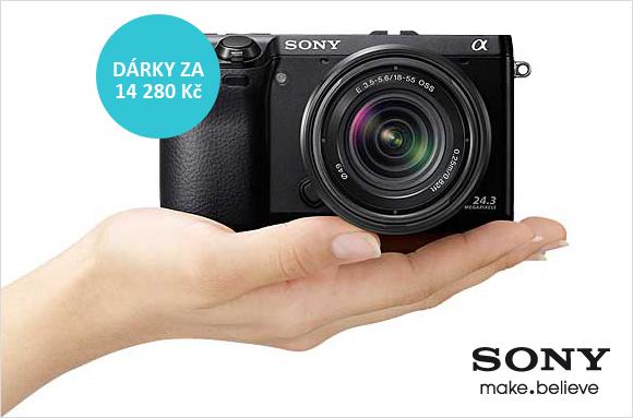 K Sony NEX-7 dostanete objektiv a originální pouzdro zdarma! Jen v Megapixelu