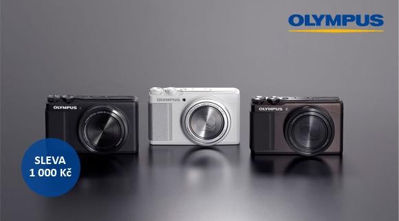 Výkonné kompakty Olympus XZ-10 a XZ-2 nyní ve slevě