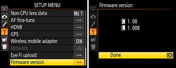 Nový firmware pro fotoaparáty Nikon