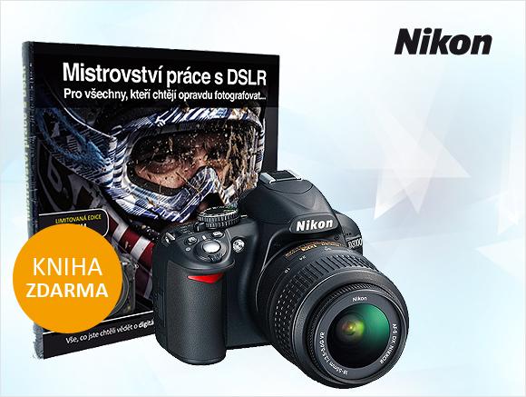 Ke všem Nikonům s výměnnými objektivy dostanete nyní navíc zdarma knihu