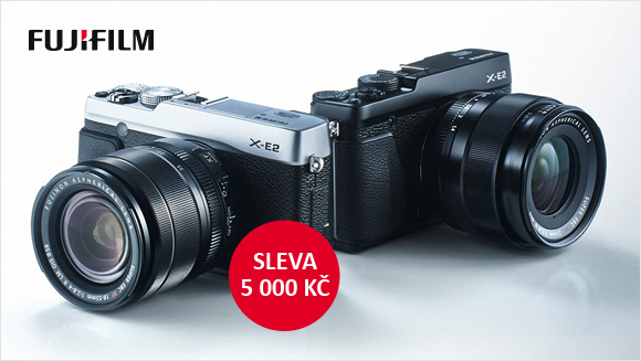 Fujifilm X-E2 + 18-55mm zlevněn o 5 000 Kč a další novinky!