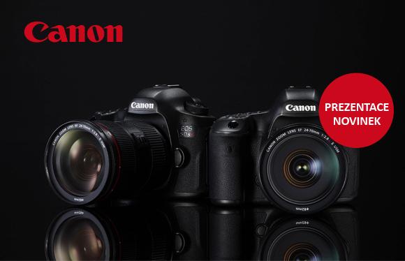 Canon EOS 5DS, objektiv 11-24mm f4L a další novinky již zítra v Megapixelu