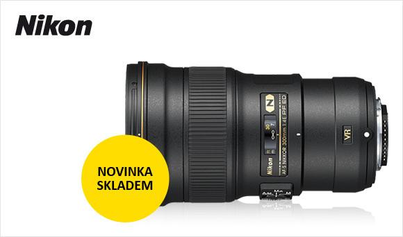 Dlouho očekávaný Nikon 300mm f/4 AF-S VR konečně skladem