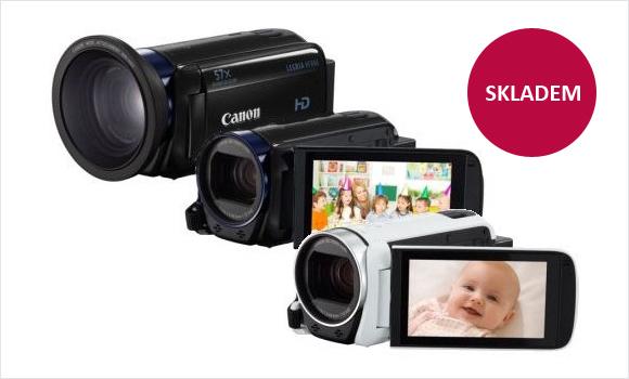 Nové kamery Canon LEGRIA HF R skladem