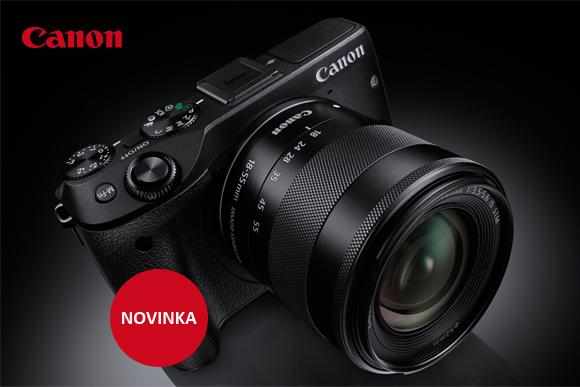 Nový systémový kompakt Canon EOS M3 je skladem