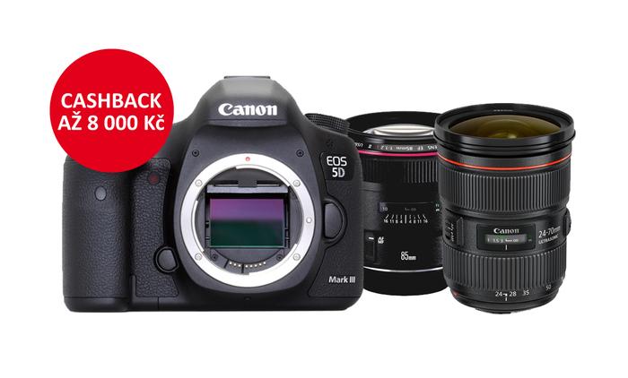 Začíná Canon EOS 5D Mk III a 5DS/R Cashback