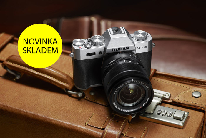 Nový Fujifilm X-T10 je ode dneška skladem