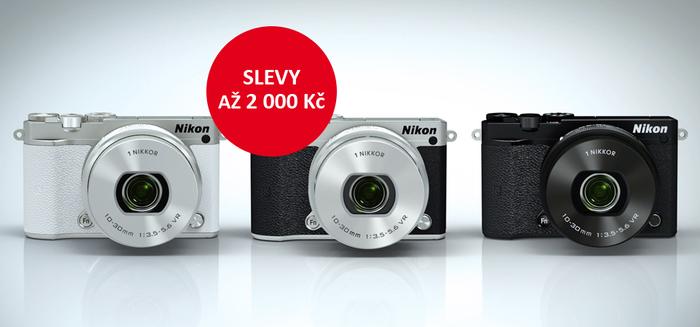 Zlevnili jsme Nikon 1 J5