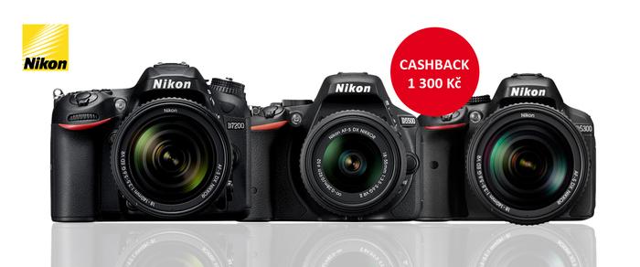 Je tu zimní cashback Nikon
