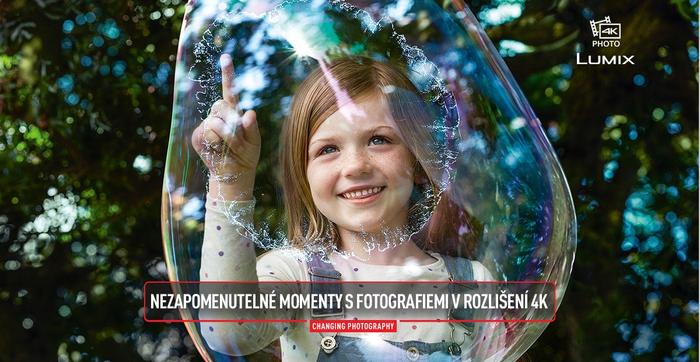 Zachyťte nezapomenutelné momenty se 4K fotoaparáty Panasonic