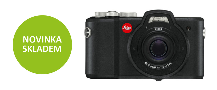 Naskladnili jsme luxusní odolný fotoaparát Leica X-U