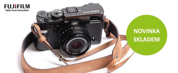 Novinka Fujifilm FinePix X-Pro2 je ode dneška skladem