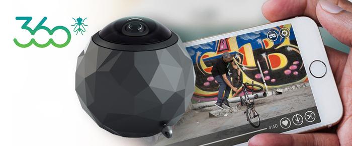 Pořiďte si unikátní outdoorovou kameru Fly 360°