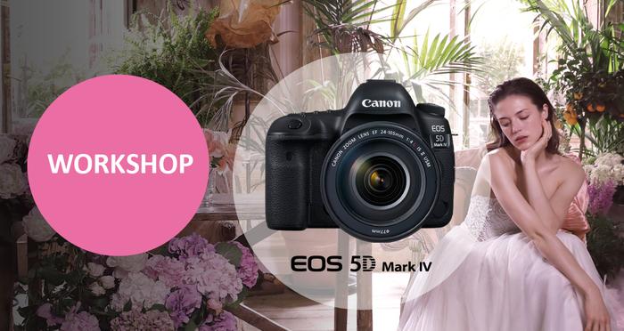 Přijďte si poprvé otestovat prodejní kus Canon EOS 5D Mk IV na workshop s Canonem