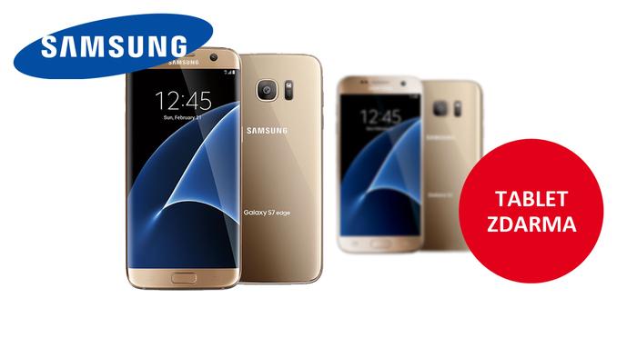Získejte tablet zdarma k fotomobilům Samsung S7 a S7 Edge