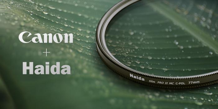Pořiďte si vybrané objektivy Canon a získáte polarizační filtr zdarma
