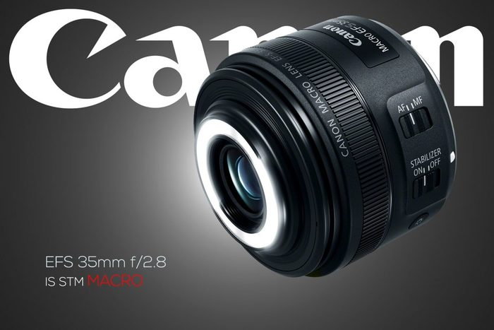Canon EF-S 35mm f/2,8 Macro s LED světlem je už skladem