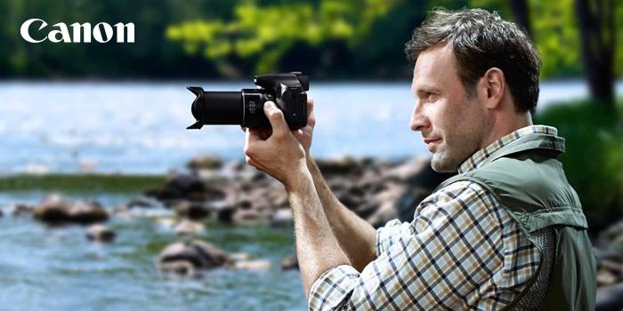 Foťte a natáčejte prázdninové zážitky s ultrazoomem Canon