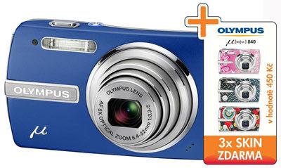 Letní slevy fotoaparátů Olympus