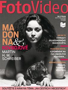 FotoVideo s unikátními fotografiemi nahé Madonny