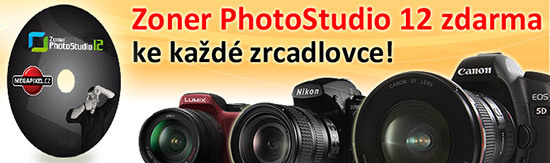Zoner Photo Studio 12 Megapixel edition zdarma!