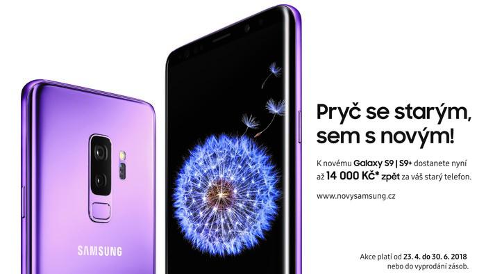 Získejte Samsung Galaxy S9 a S9+ za tu nejvýhodnější cenu