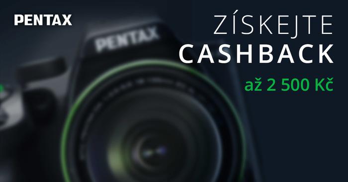 Podzimní cashback Pentax