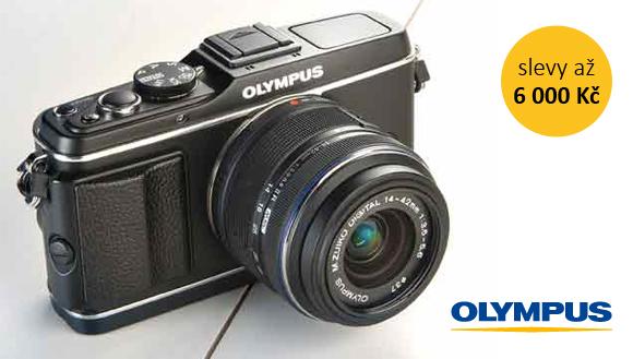 Olympus PEN E-P3 ve výprodeji se slevou až 6 000 Kč
