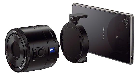 Externí objektivy Sony QX10 a QX100 jsou už skutečností
