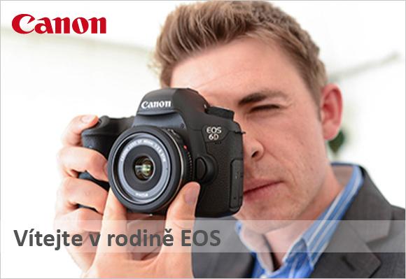 Přijďte si vyzkoušet objektivy a fotoaparáty Canon