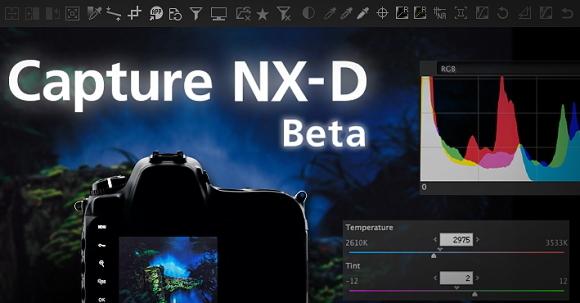 Nikon Capture NX-D nový software pro formáty RAW