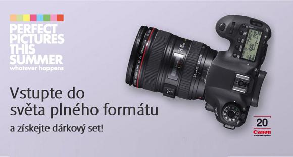Objevte svět plného formátu Canon EOS 6D a získejte poukaz na čištění čipu a workshop zdarma