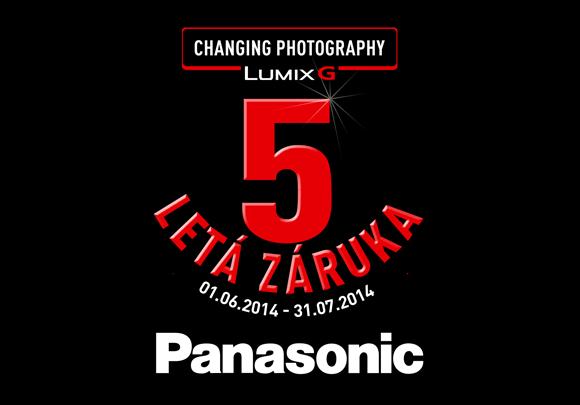 Záruka 5 let na fotoaparáty Panasonic série G