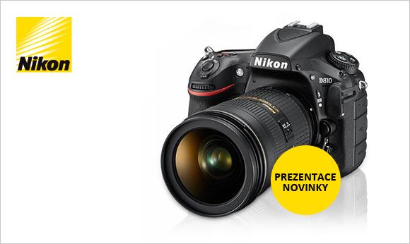 Oficiální prezentace Nikon D810 – poslední místa!