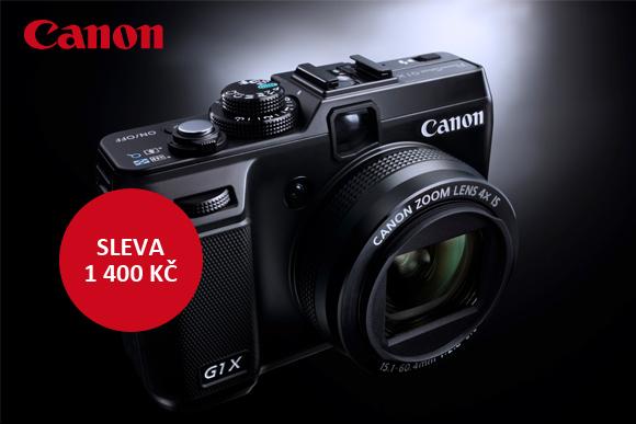 Sleva až 1500 Kč na kompakty Canon