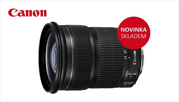 Novinka Canon EF 24-105mm f/3,5-5,6  skladem