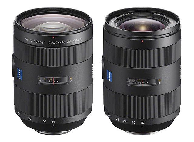 Dva nové světelné zoomy pro zrcadlovky Sony