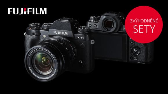 Speciální zvýhodněné sety fotoaparátů FUJIFILM do 31. 5.