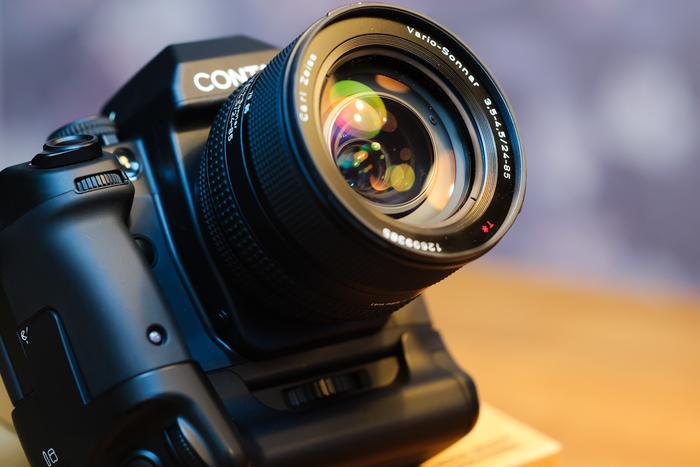 Historie fotografických značek - Contax