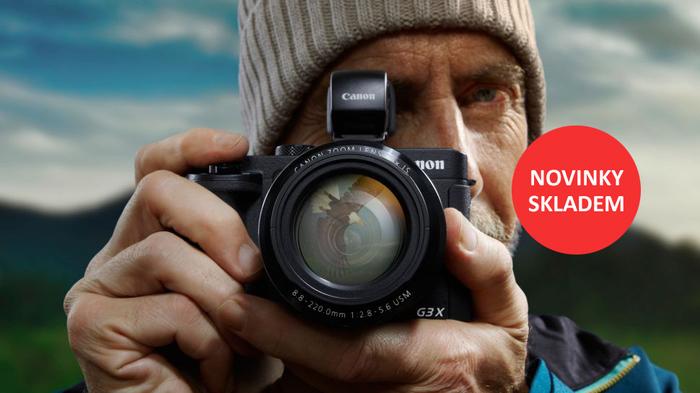 Novinky Canon PowerShot G3 X a Canon EF 11-24mm f/4,0 L skladem