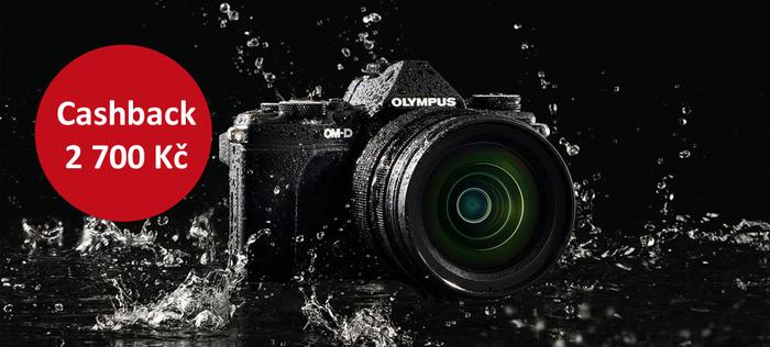 Ušetřete 2 700 Kč při nákupu Olympus OM-D E-M5 Mk II a příslušenství Olympus
