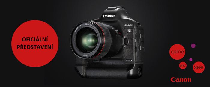 Přijďte na oficiální prezentaci novinky Canon EOS-1D X Mark II