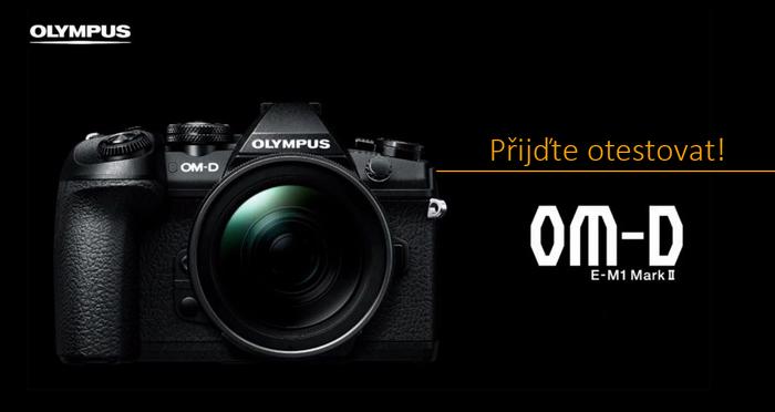 Přijďte na oficiální prezentaci a workshopy novinky Olympus OM-D E-M1 Mk II
