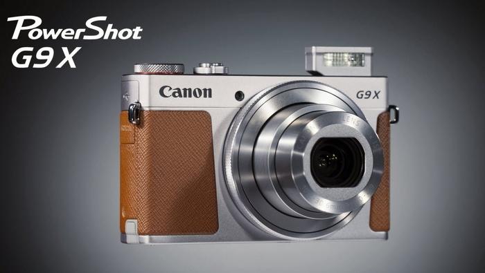 Stylový Canon PowerSot G9 X Mark II už máme skladem