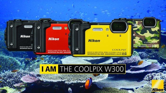 Nikon Coolpix W300 HolidayKit v předprodeji s dárky zdarma
