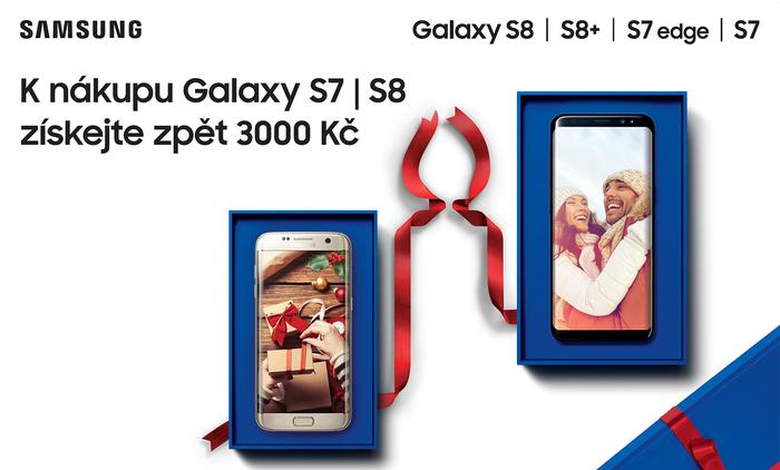 Ušetřete 3 000 Kč s Cashback Samsung